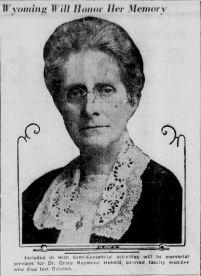 Portrait of Dr. Hebard accompanying article