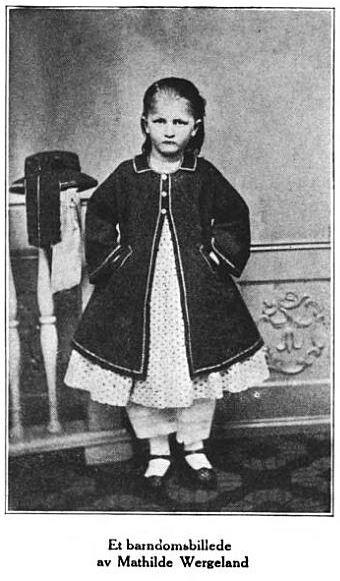 Agnes Mathilde Wergeland as a child, Glimpses From Agnes Mathlide Wergeland's Life, pg. 22
