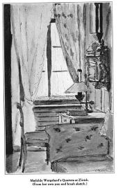 Wergeland's Sketches from the places she has lived and studied, Glimpses From Agnes Mathlide Wergeland's Life pages 54, 66, 68, 69, 71, 75,