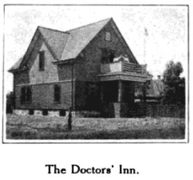 An image of The Doctor's Inn from Glimpses From Agnes Mathilde Wergeland's Life pg 175