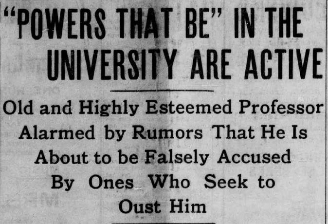 Laramie Boomerang March 26, 1908, page 1